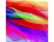 10 sálas készlet – 140 x 140 cm, élénk színekben