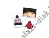 Fényképkártyák: Test és ruházat 54 db képpel