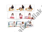 Fényképkártyák: Folyamatok 54 db képpel