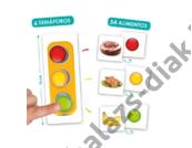 Egészséges táplálkozás - Közlekedési lámpa