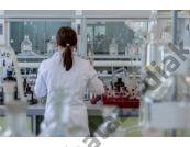Folyadéküveg normálcsiszolatos dugóval, fehér üvegből, 1.000 ml