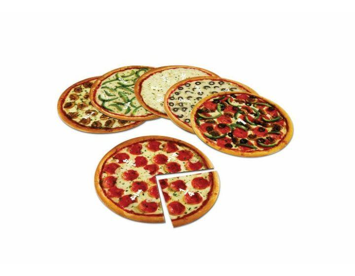Pizza / pizza, pizza...mágneses törtkorong készlet