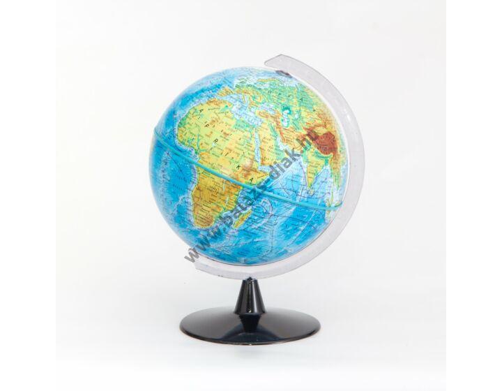 Földgömb hegy-vízrajzi 16 cm
