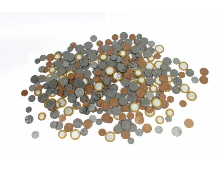 Játék pénzérme készlet (Angol Font)