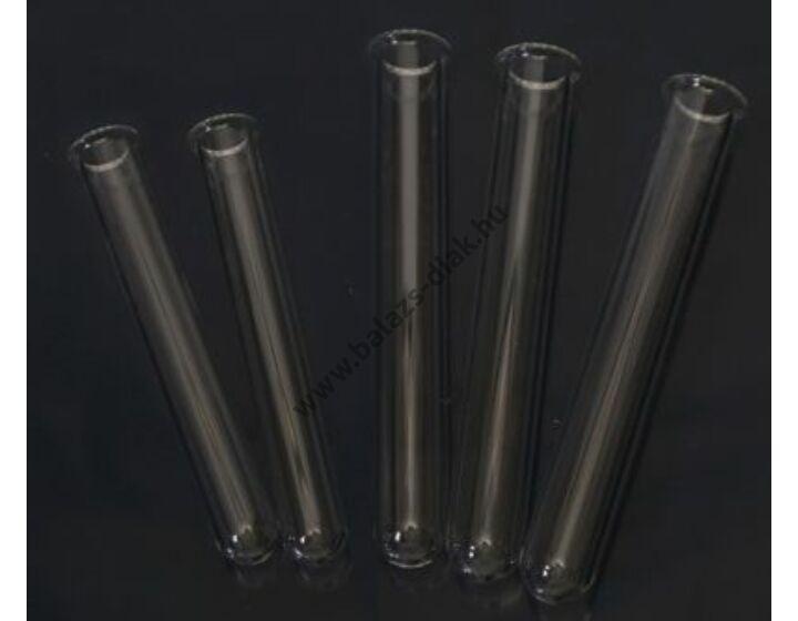 Kémcső, peremmel, Boro 3.3 üvegből, 16x160mm