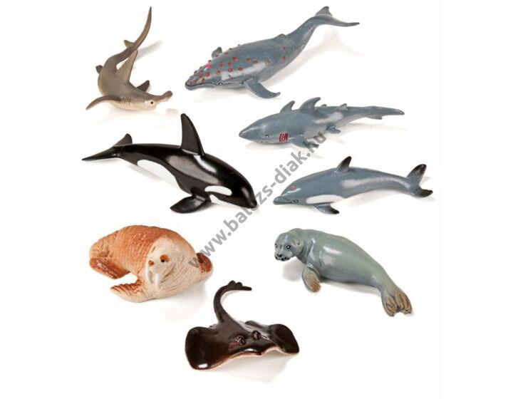 Tengeri állatok, 8 figura