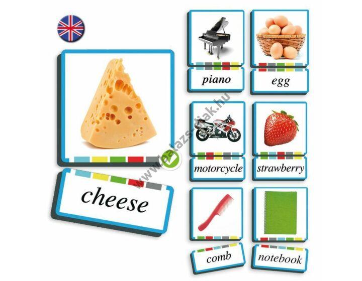 Kép-és szókártya - Főnevek - angol nyelv