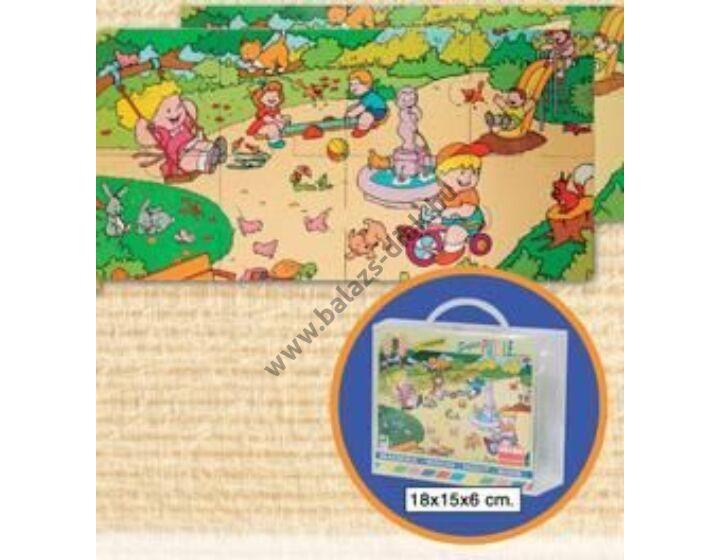 A parkban fa puzzle