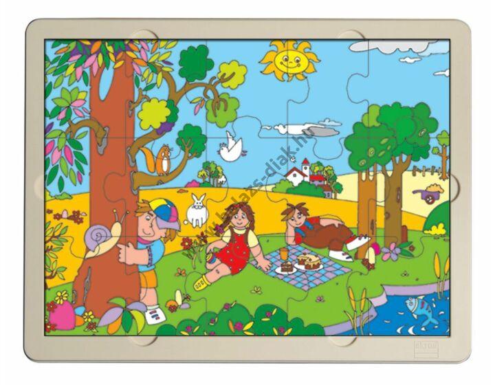 Tavasz fa puzzle
