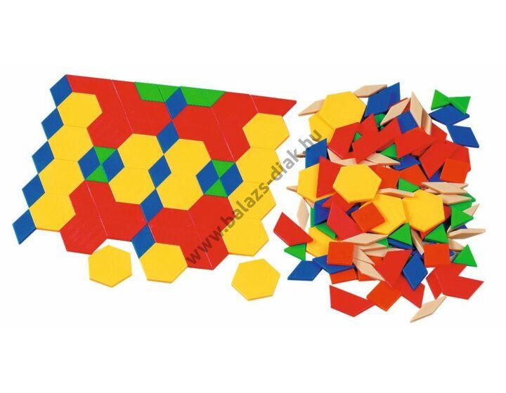 Síkidom készlet - Geometria formák 5 mm vastag