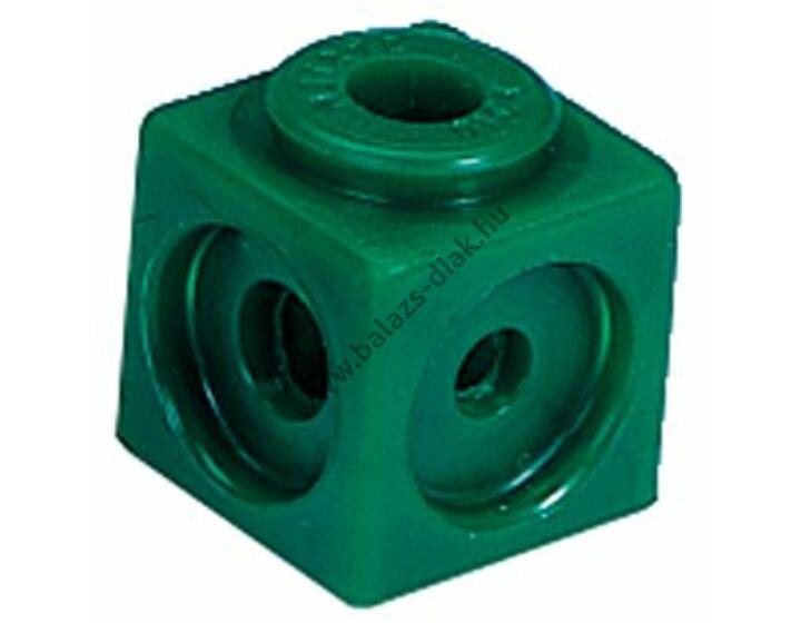 Számoló kocka - Zöld színű
