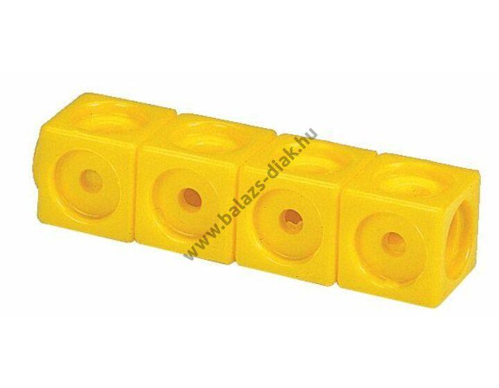 Számoló kocka - Sárga színű