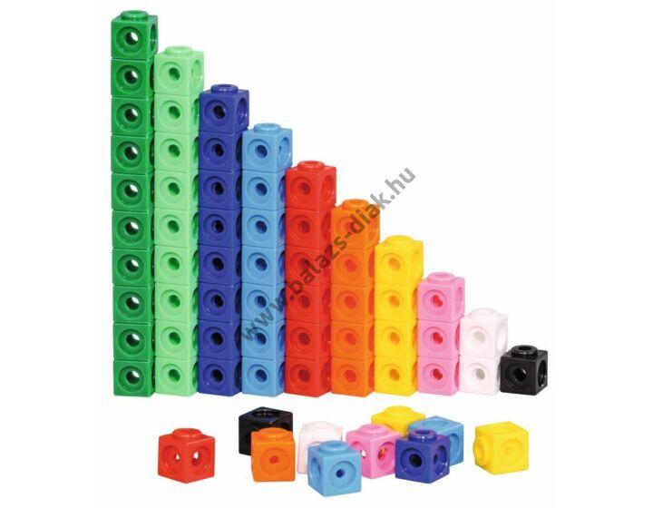 Számoló kocka - vegyes színű