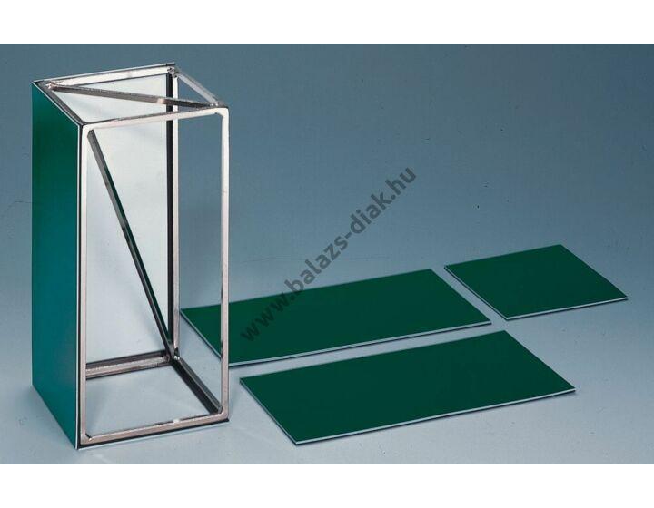 Hasáb 12x12x24 cm mágneses