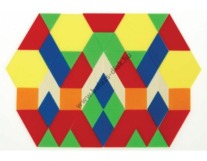 Geometriai formák 3 mm vastag, 250 db-os