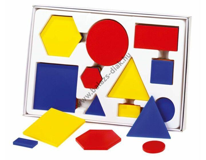 Szortírozó geometriai alakzatok