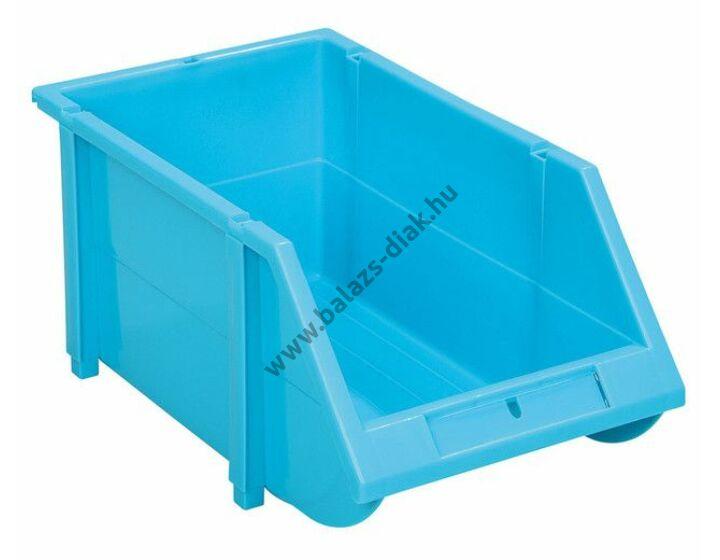 Kis nyitott tárolórekeszek kék színben