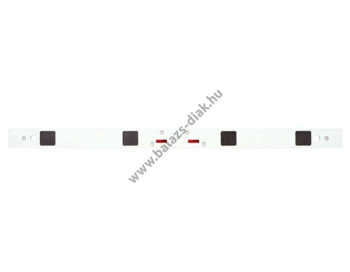 Egyenes mágneses vonalzó - 100 cm, színes, cm-dm