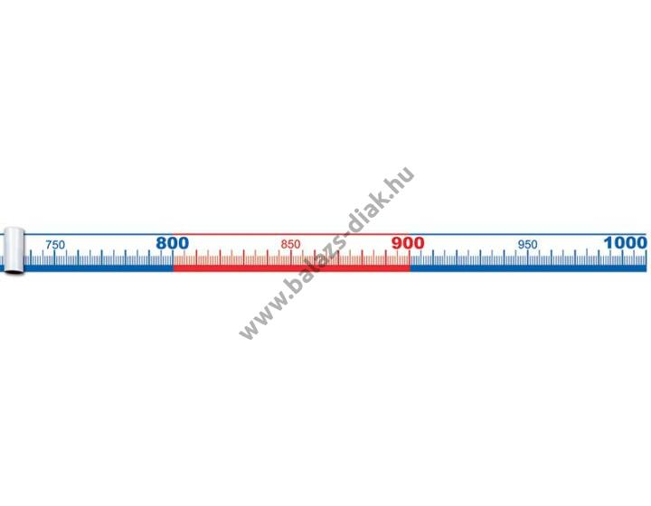 Számolószalag 0-1000-ig 5 m-es