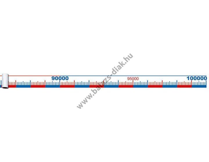 Számolószalag/0-100000-ig 5m