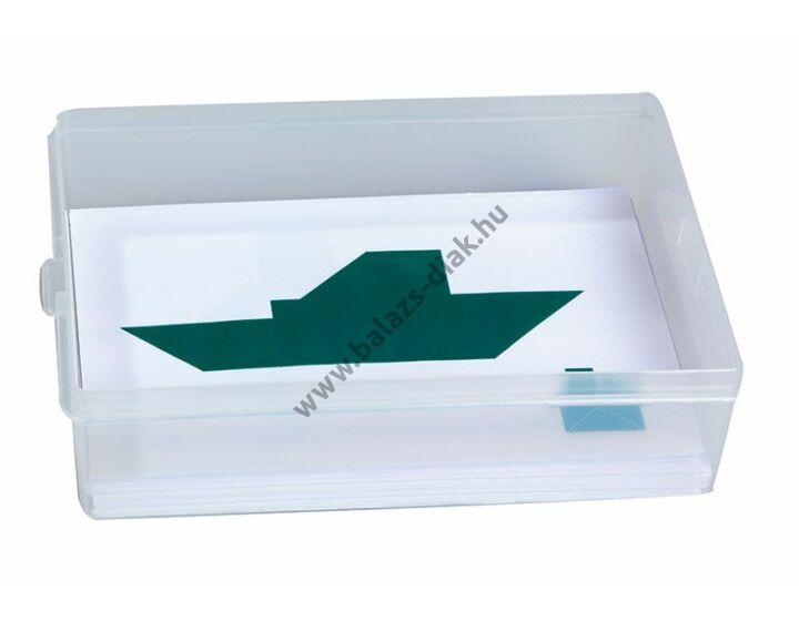 Tangram feladatkártyák műanyag