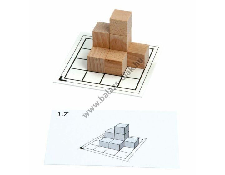 Cubo - feladatkártya csomag - 1-8 db kockához