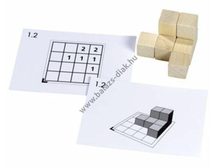Cubo - feladatkártya csomag - 2-8 db kockához