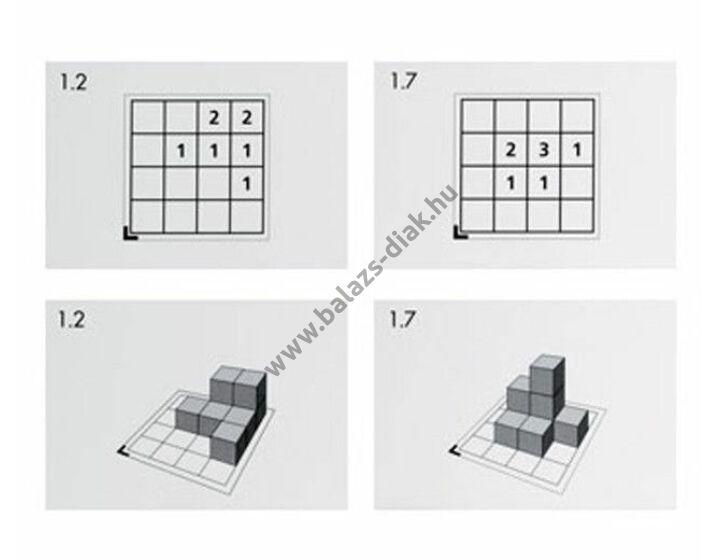 Cubo - feladatkártya csomag - 3-16 db kockához