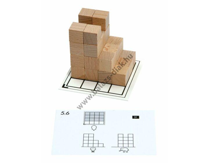 Cubo - feladatkártya csomag - max. 33 db kockához