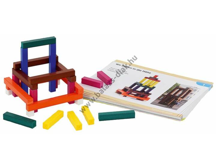 Kis színesrúd készlet csomagban (12 csomag)