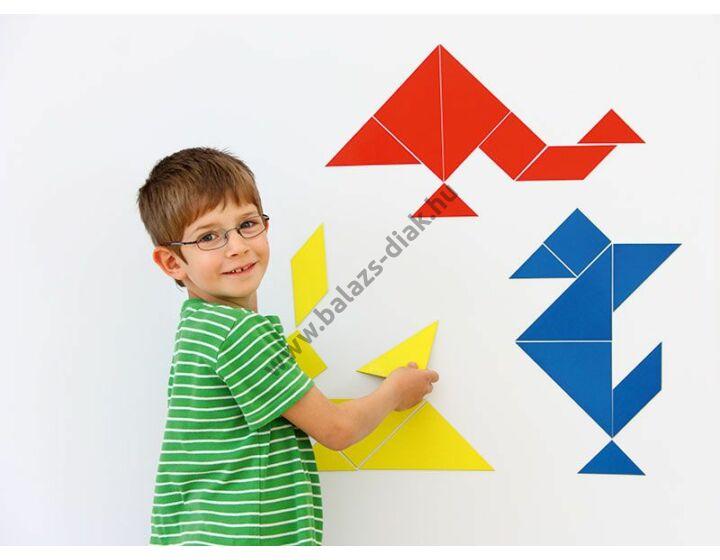 Mágneses tanári tangram
