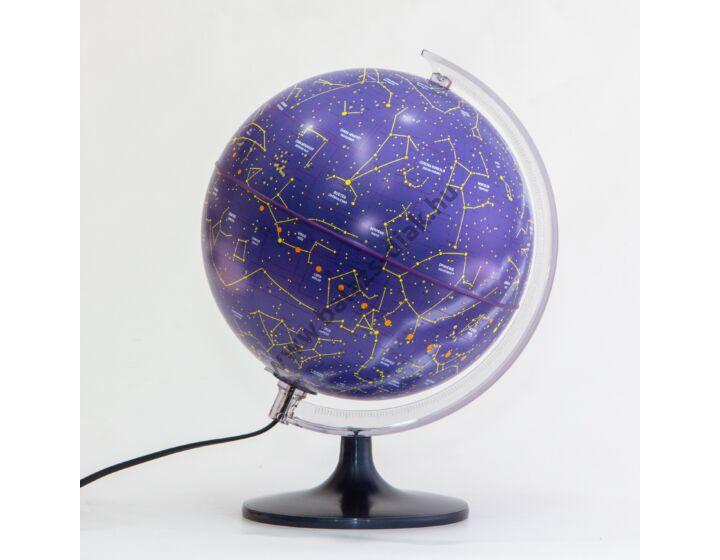 Stellare csillaggömb-25 cm világító,fatalpas