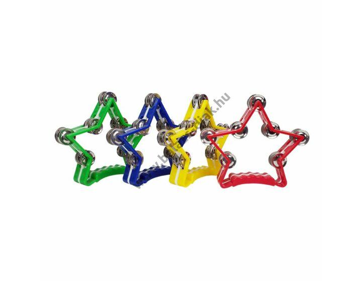 Kézi csörgő 7 dupla csörgővel - csillag