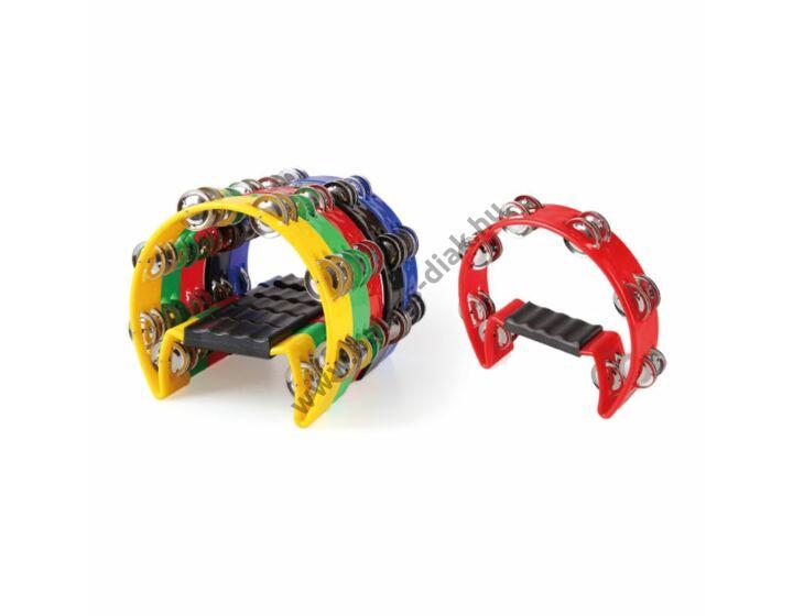 Kézi csörgő készlet 8 dupla csörgővel, 22 cm, 5 db-os készlet