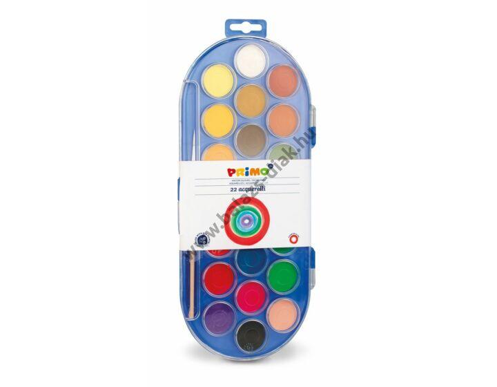 Vízfesték festő paletta 22 szín, 30 mm