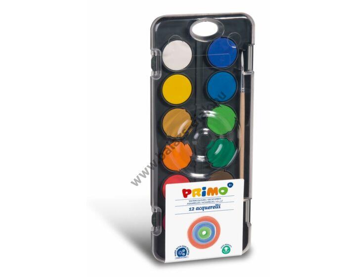 Vízfesték festő paletta 12 szín, 30 mm