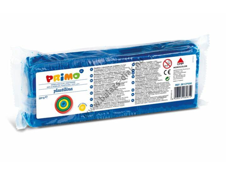Gyurma 550g-os, gyurmaformázóval, kék