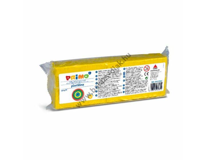 Gyurma 550g-os, gyurmaformázóval, sárga