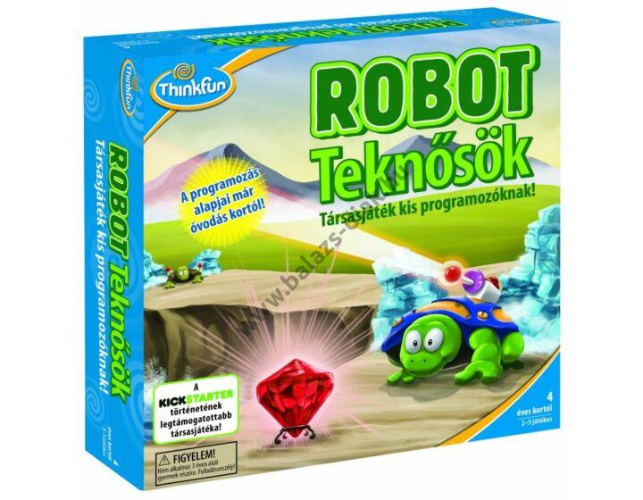 Robot teknősök - Thinkfun társasjáték kis programozóknak