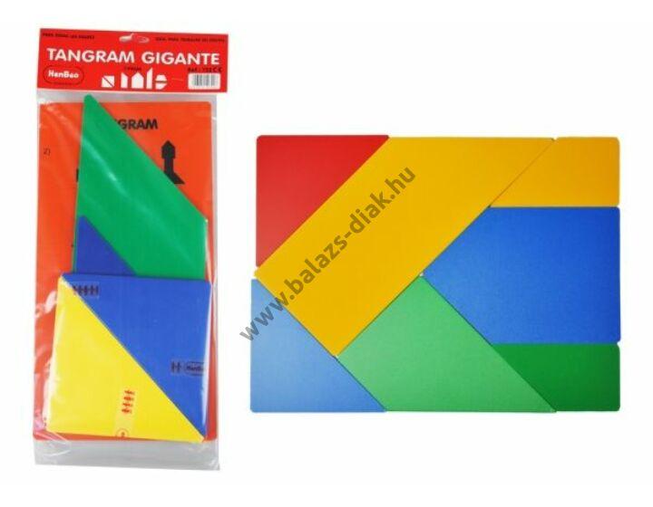 Óriás tangram - tanári