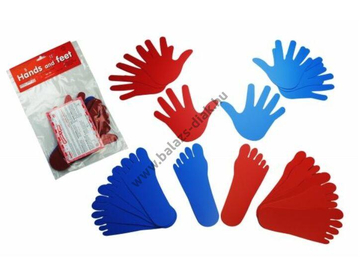 Kéz- és lábnyomok