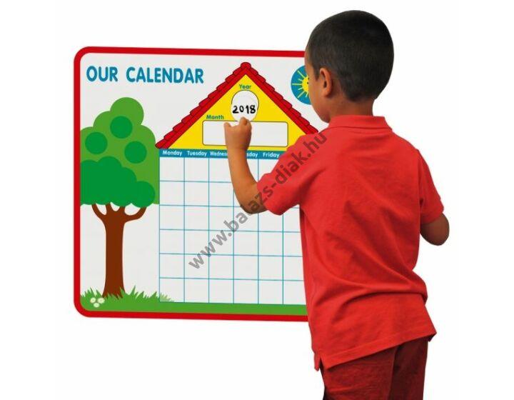 Mágneses naptár - (angol)