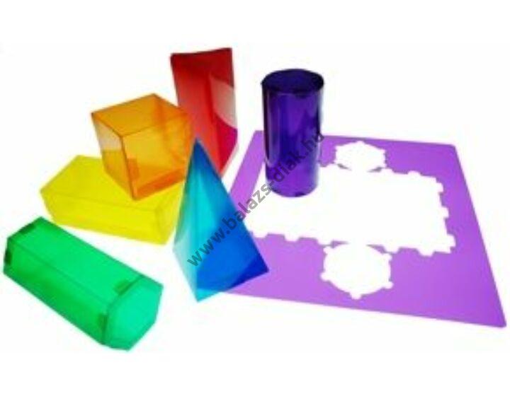 Testépítő - felszínháló formák - színes