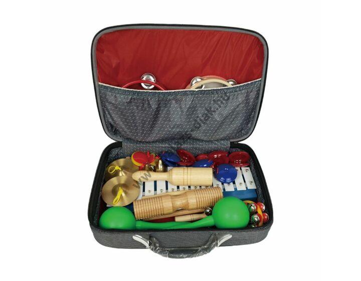 Ritmusbőrönd 17 db hangszerrel