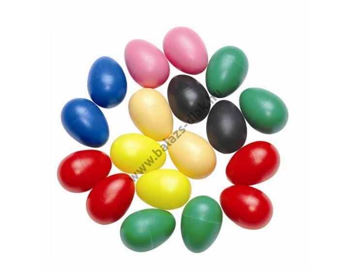 Műanyag tojás maracas
