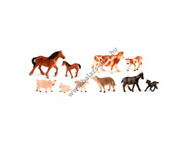 Farm állatok és kicsinyeik 10 figura
