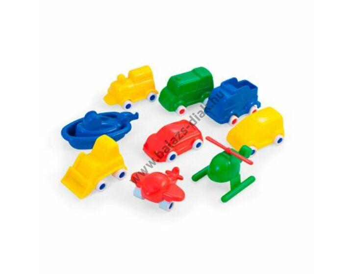 Minimobil: Járművek ( 9 db)