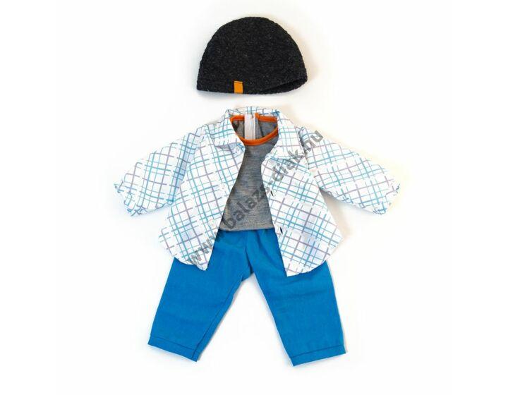 Téli ruha - 38-40 cm-es babához (fiú)
