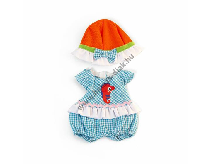 Nyári ruha - 32 cm-es babához (lány)