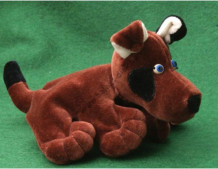 Ötujjas báb: foxi kutya - gyerek kézre